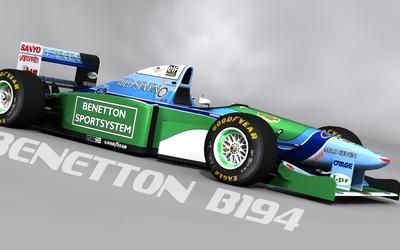Benetton B194 wallpaper