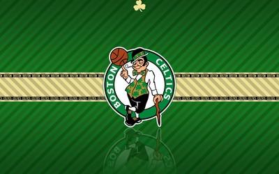 Boston Celtics logo wallpaper