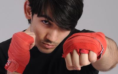 Brunette boxer wallpaper