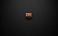FC Barcelona on a gray texture wallpaper 1920x1200 jpg