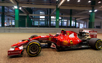 Red Ferrari SF15-T parked wallpaper 1920x1080 jpg