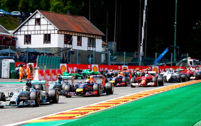 Formula 1 Belgium Grand Prix 2014 wallpaper