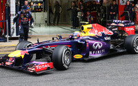 Infiniti Red Bull Racing wallpaper 3840x2160 jpg
