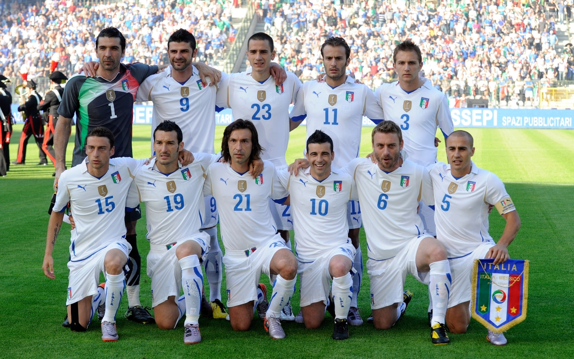 Italy National Football Team Wallpaper Sport Wallpapers