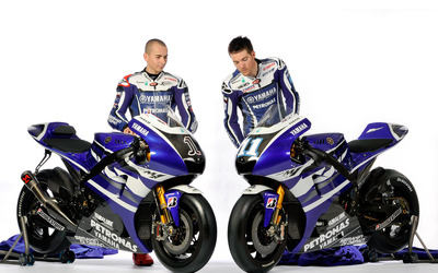 Jorge Lorenzo and Ben Spies wallpaper