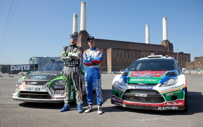 Ken Block and Mikko Hirvonen wallpaper