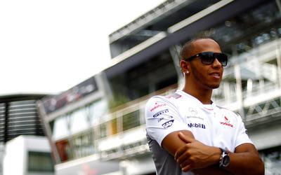 Lewis Hamilton [3] wallpaper
