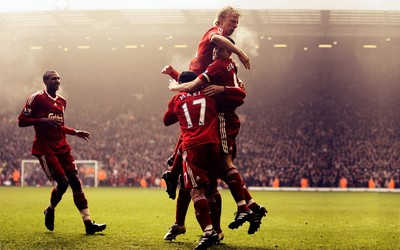 Liverpool players wallpaper