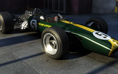 Lotus 49 wallpaper