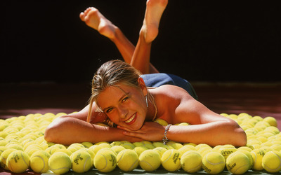 Maria Sharapova [36] wallpaper