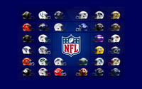 NFL Logos wallpaper 2560x1600 jpg