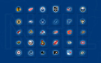 NHL Logos wallpaper 2880x1800 jpg