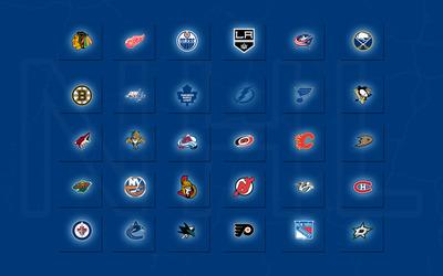 NHL Logos wallpaper