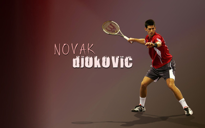Novak Djokovic [3] wallpaper