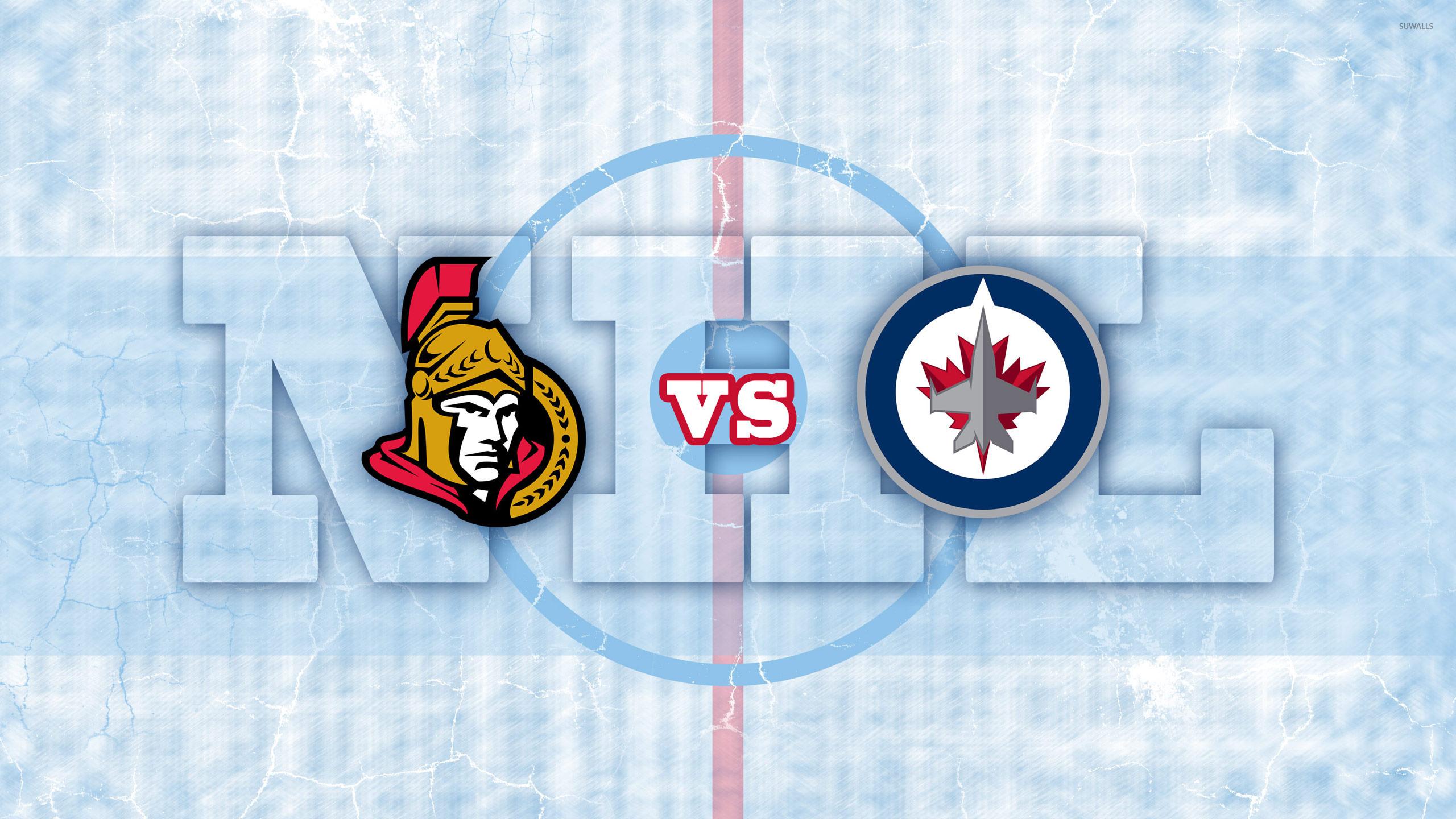 Ottawa Senators Vs Winnipeg Jets Wallpaper Sport