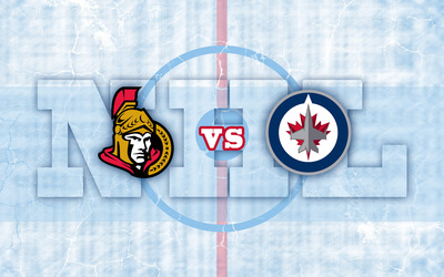Ottawa Senators vs Winnipeg Jets wallpaper
