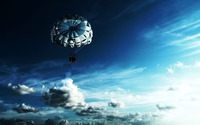 Parachuting [2] wallpaper 1920x1200 jpg