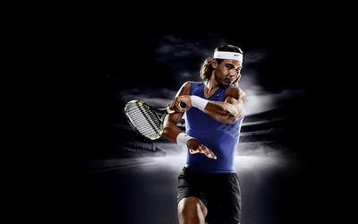 Rafael Nadal [8] wallpaper