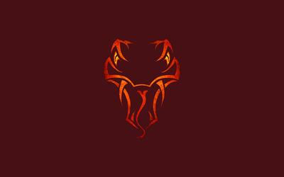 Randy Orton viper logo [2] wallpaper
