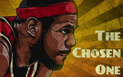 The chosen one wallpaper
