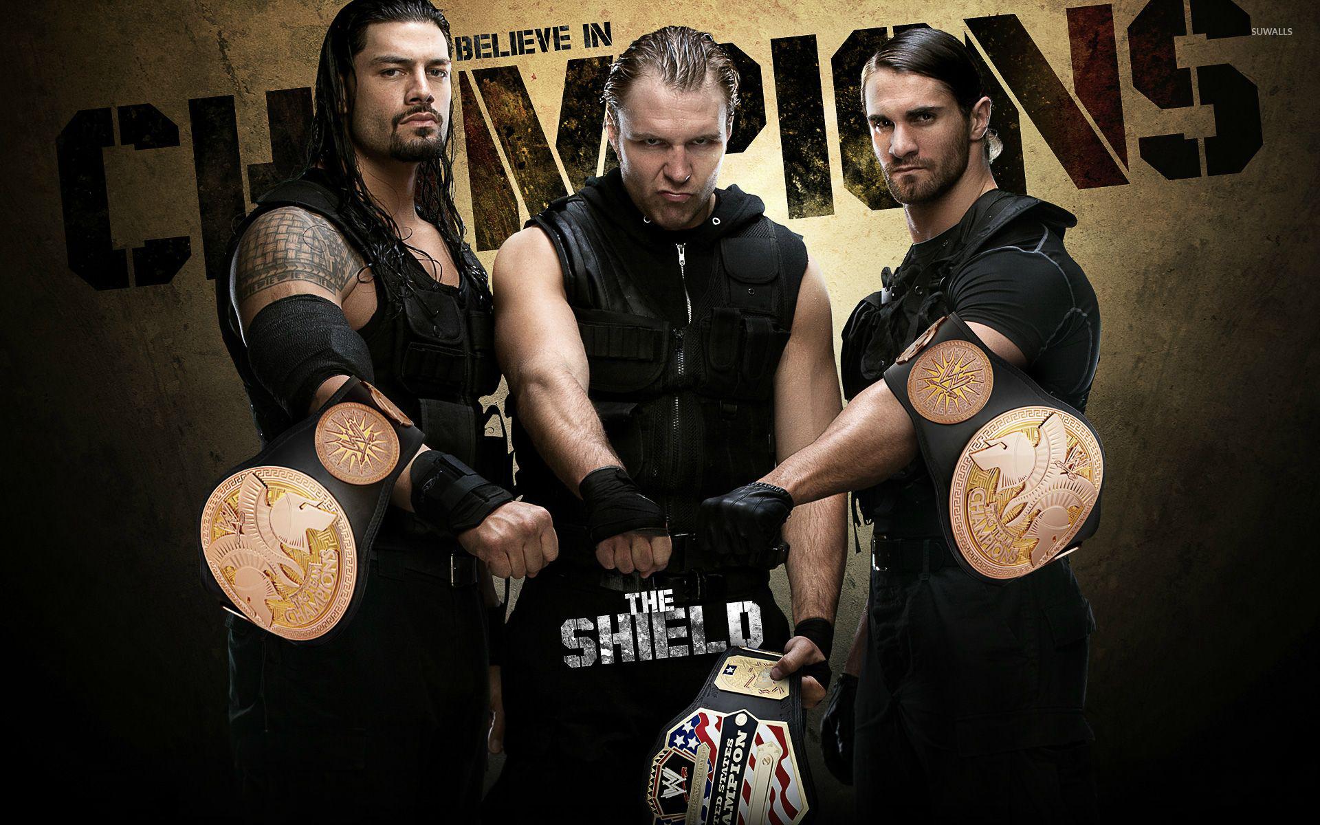 The Shield in wrestling wallpaper