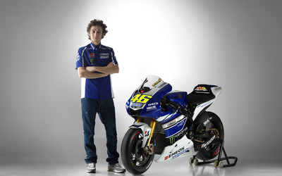 Valentino Rossi [5] wallpaper