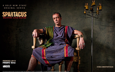Batiatus - Spartacus: Blood and Sand wallpaper