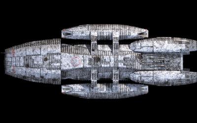 Battlestar Galactica spaceship [2] wallpaper