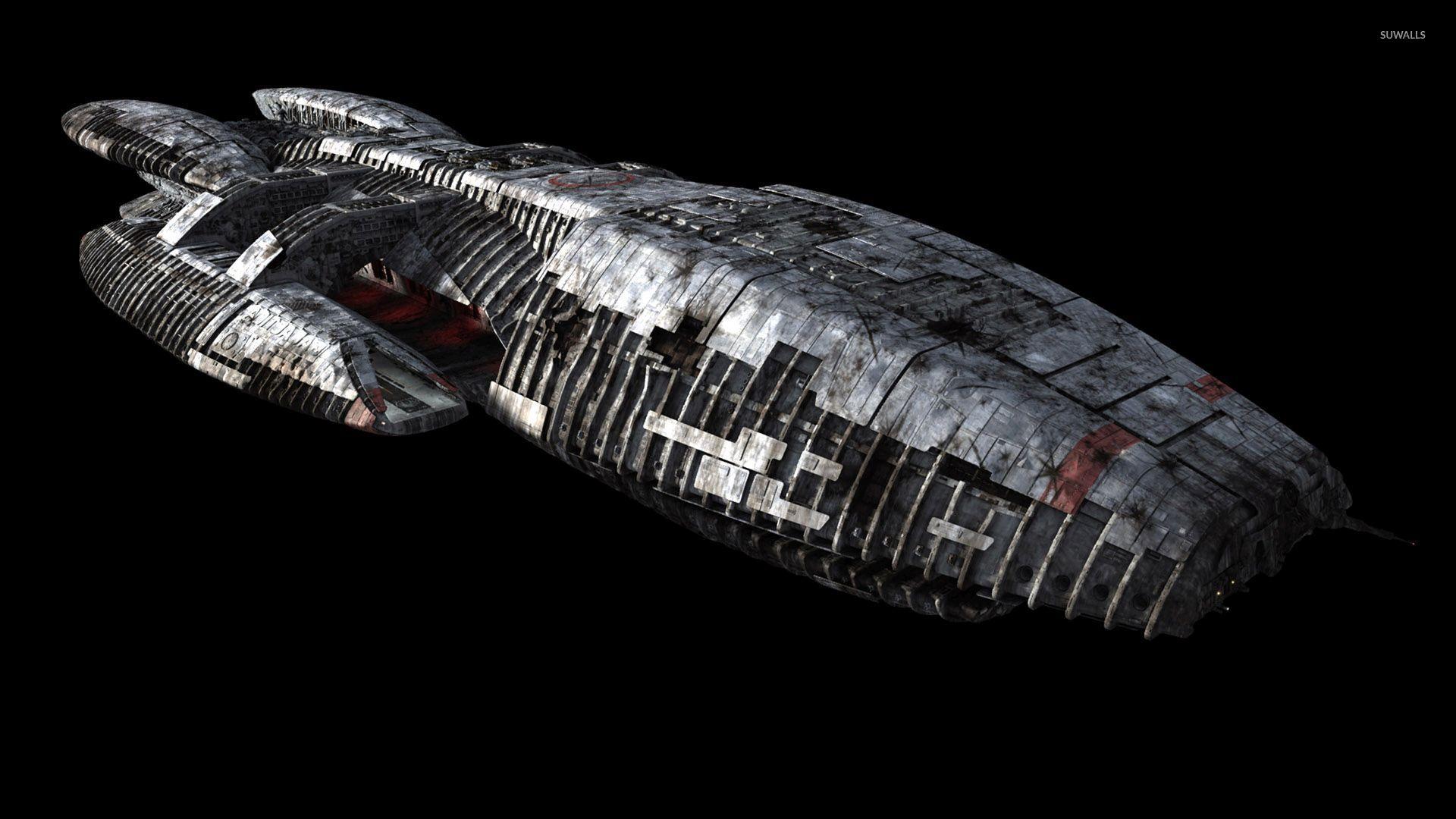 Battlestar Galactica Spaceship Wallpaper