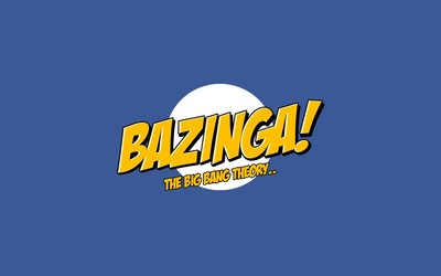 Bazinga - The Big Bang Theory wallpaper