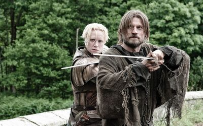 Brienne and Jaime - Game of Thrones wallpaper