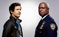 Capt. Holt and Jake Peralta - Brooklyn Nine-Nine wallpaper 1920x1080 jpg