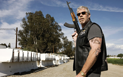 Clay Morrow - Sons of Anarchy wallpaper