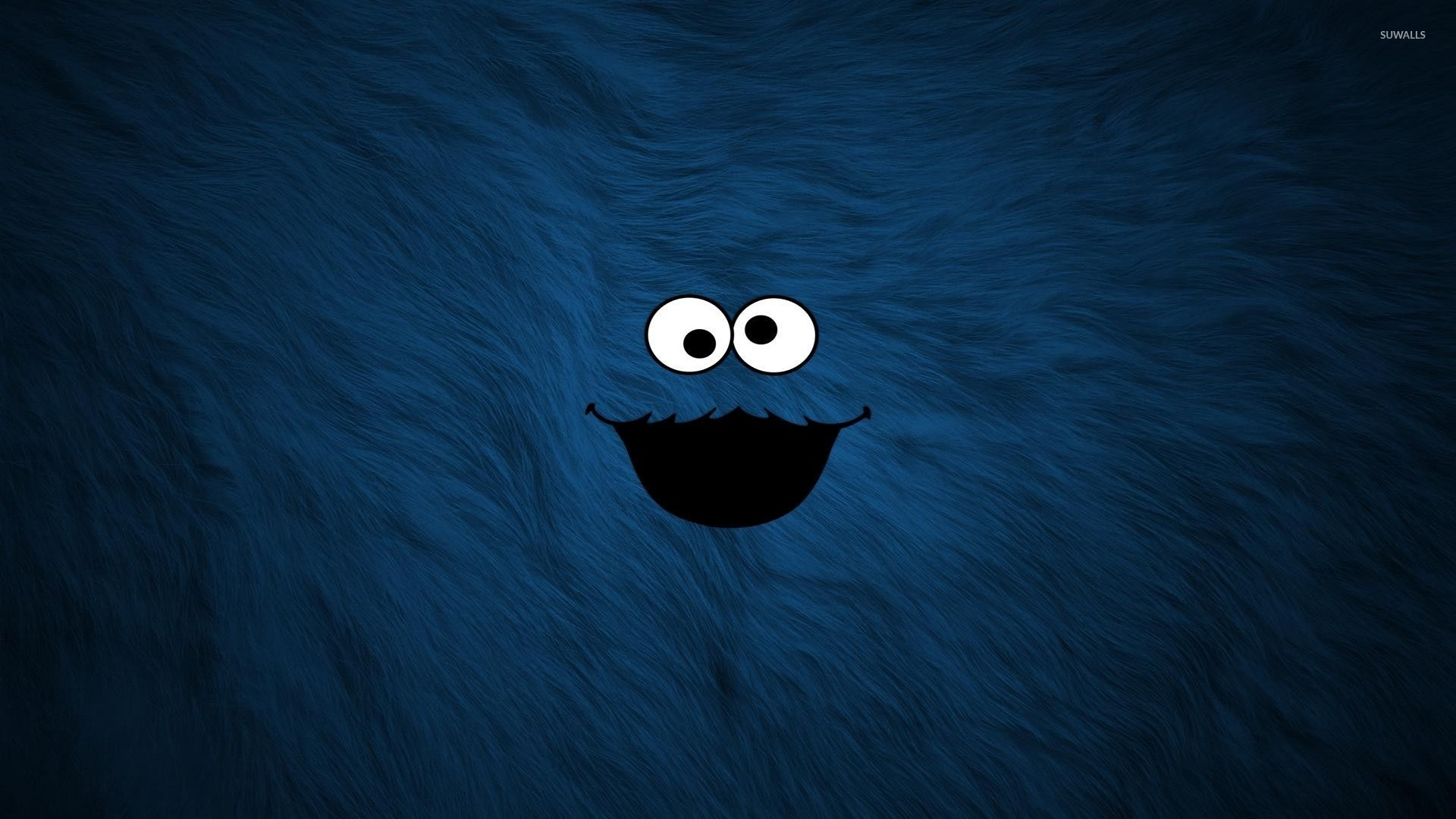 Cookie Monster From Sesame Street Wallpaper