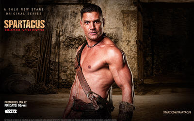 Crixus - Spartacus: Blood and Sand wallpaper