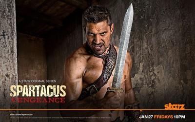 Crixus - Spartacus: Vengeance wallpaper