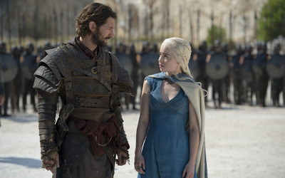 Daario and Daenerys - Game of Thrones [2] wallpaper