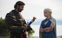 Daario and Daenerys - Game of Thrones wallpaper 1920x1200 jpg