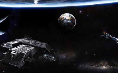 Daedalus - Stargate wallpaper