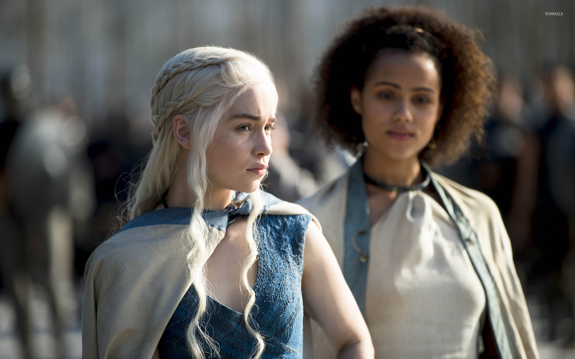 Daenerys And Missandei Game Of Thrones 2 Wallpaper Tv Show