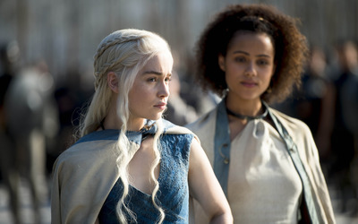 Daenerys and  Missandei - Game of Thrones [2] wallpaper