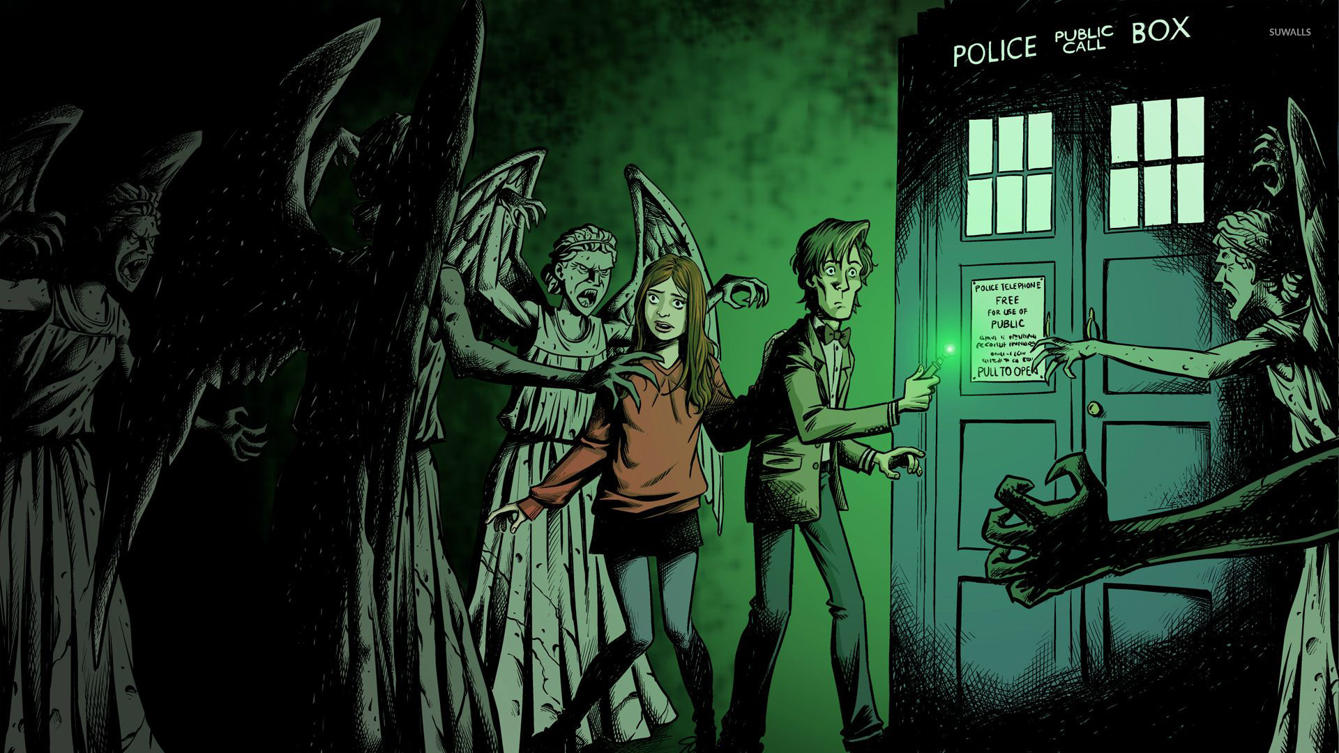 Doctor Who 4 Wallpaper Tv Show Wallpapers 16236