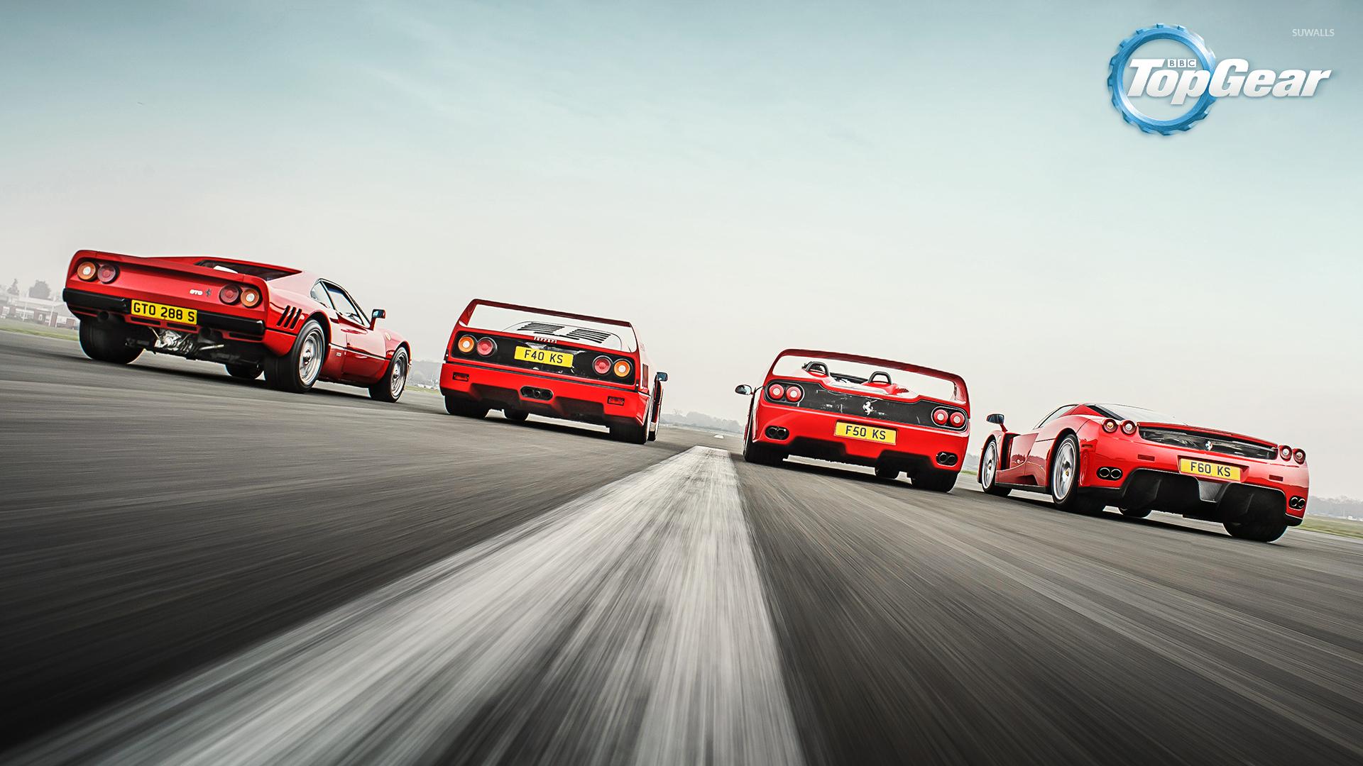 ferrari race in top gear wallpaper tv show wallpapers 52778