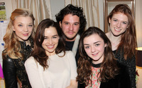 Game of Thrones cast wallpaper 2880x1800 jpg
