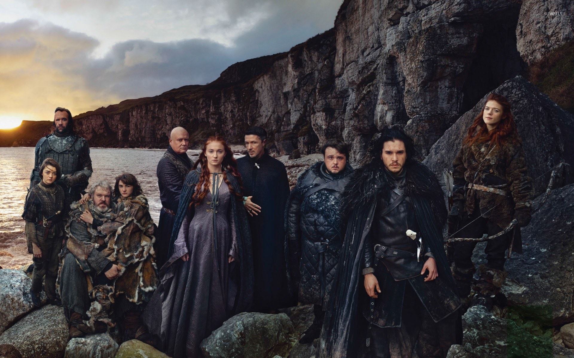 Game Of Thrones Cast 2 Wallpaper Tv Show Wallpapers 52807