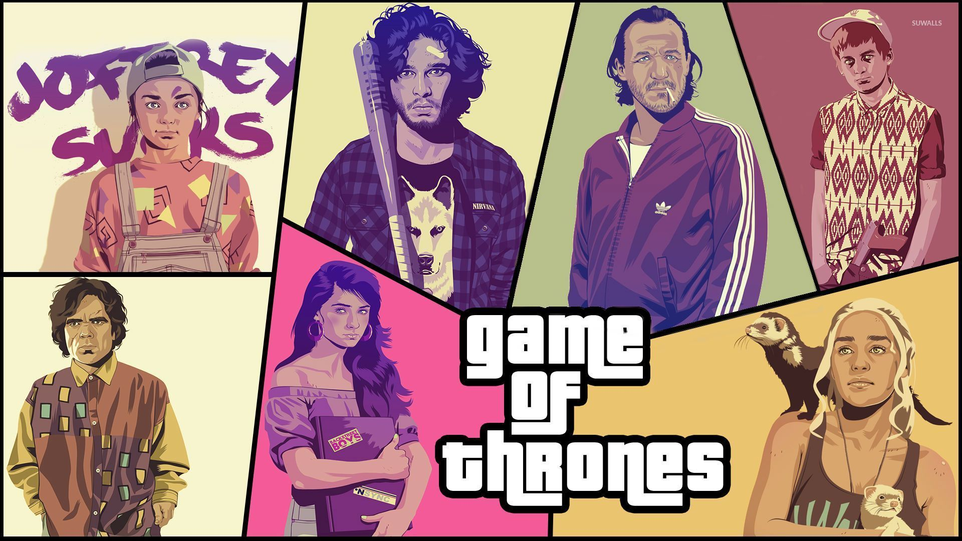 Game Of Thrones Gta Wallpaper Tv Show Wallpapers 31542