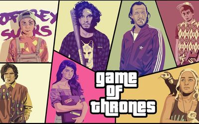 Game of Thrones GTA wallpaper