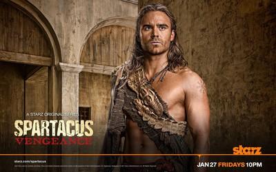 Gannicus - Spartacus: Vengeance wallpaper
