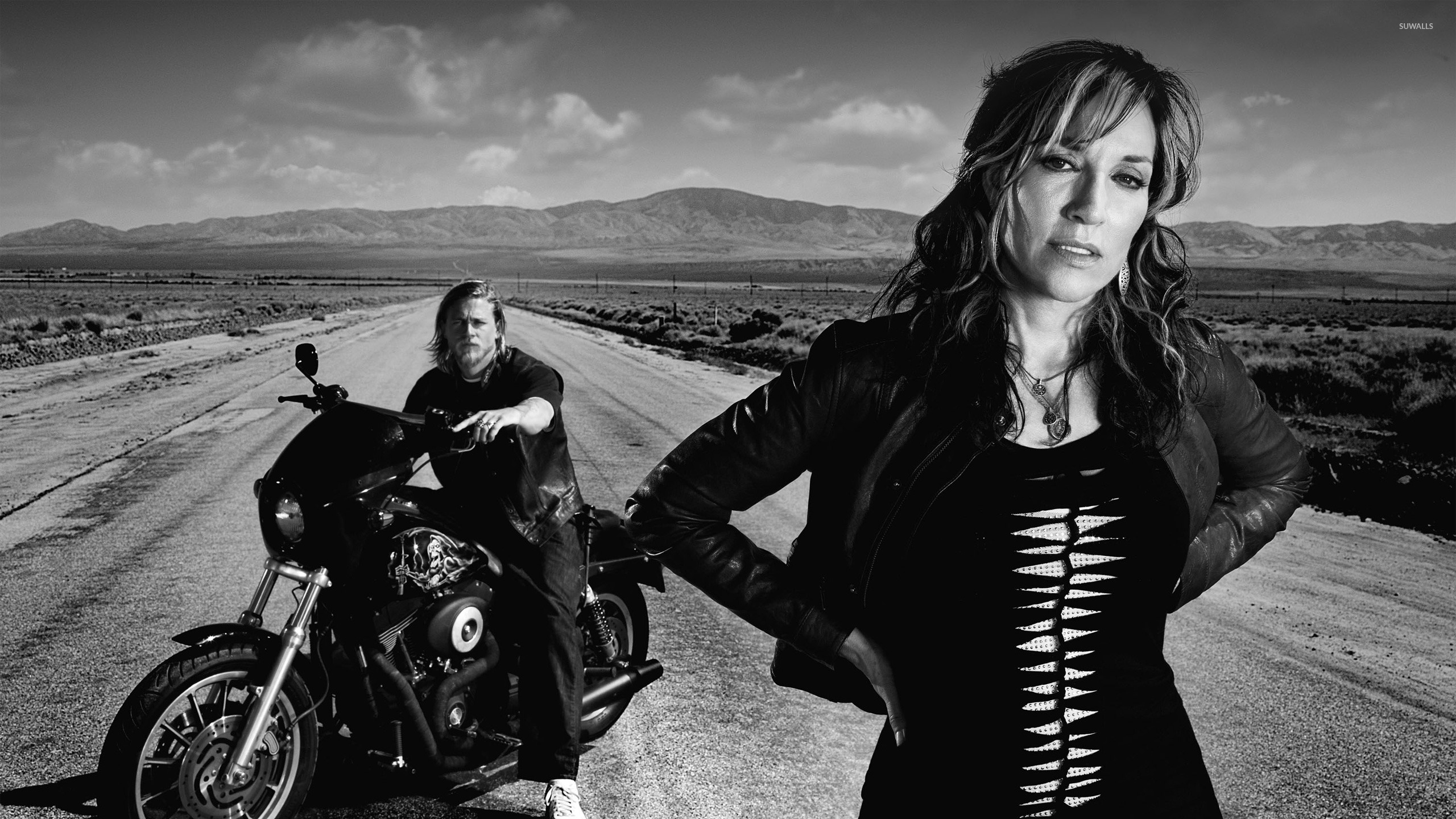 Gemma And Jax Sons Of Anarchy Wallpaper Tv Show Wallpapers