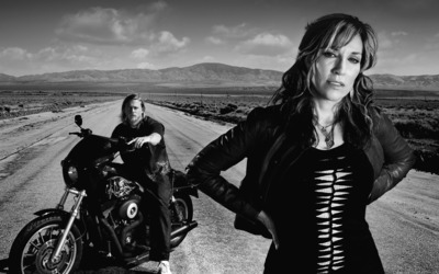 Gemma and Jax - Sons of Anarchy wallpaper